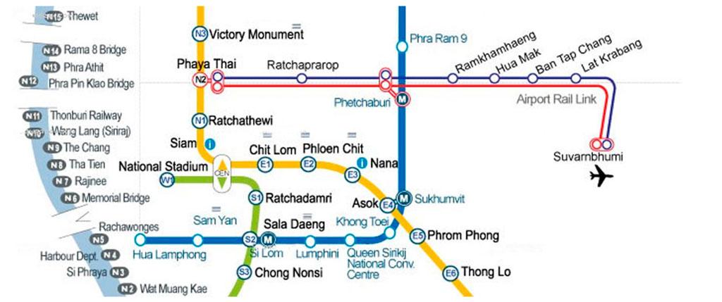 Как добраться из аэропорта Суварнабхуми в Бангкок