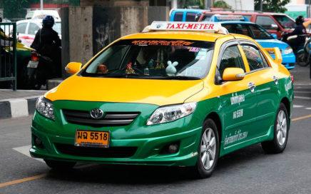из аэропорта в Бангкок на такси