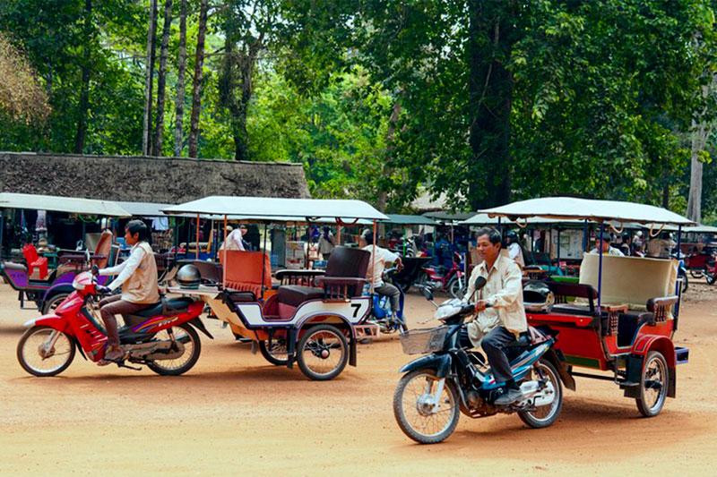 Самостоятельное путешествие в Камбоджу из  Таиланда